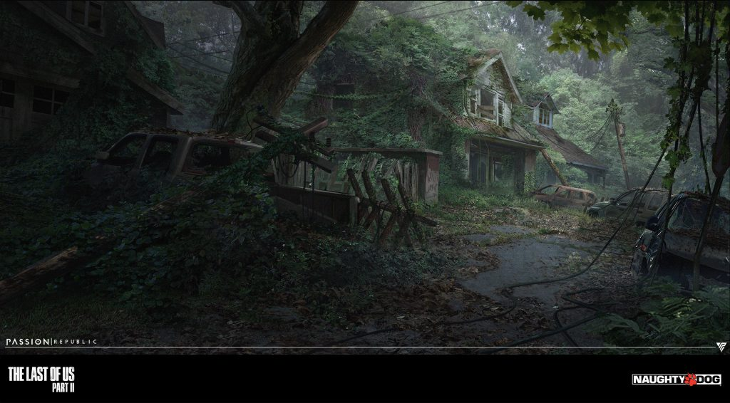 Concept Art The Last of Us 2