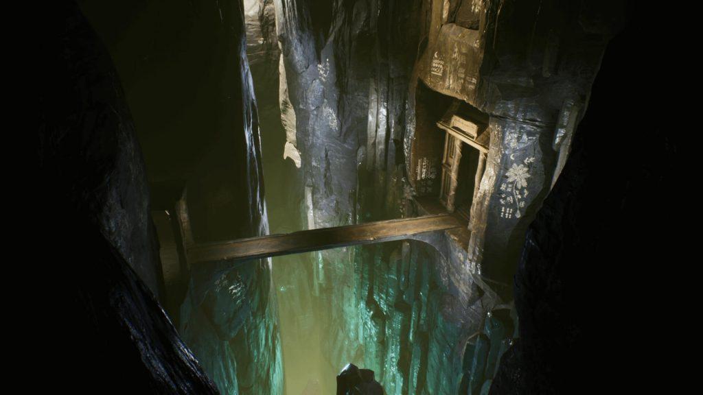 Fantasy Cave environment