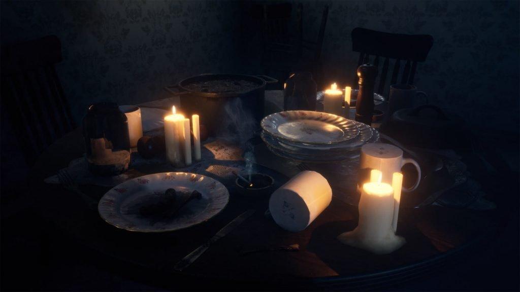 horror dining room - marketplace octubre unreal